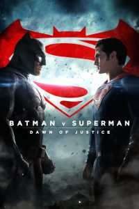 "Affiche du film ""Batman v Superman: Dawn of Justice"""